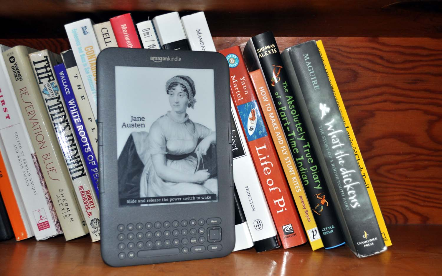 To Kindle or Not to Kindle, That is the Amazon Question – Lara Dunning