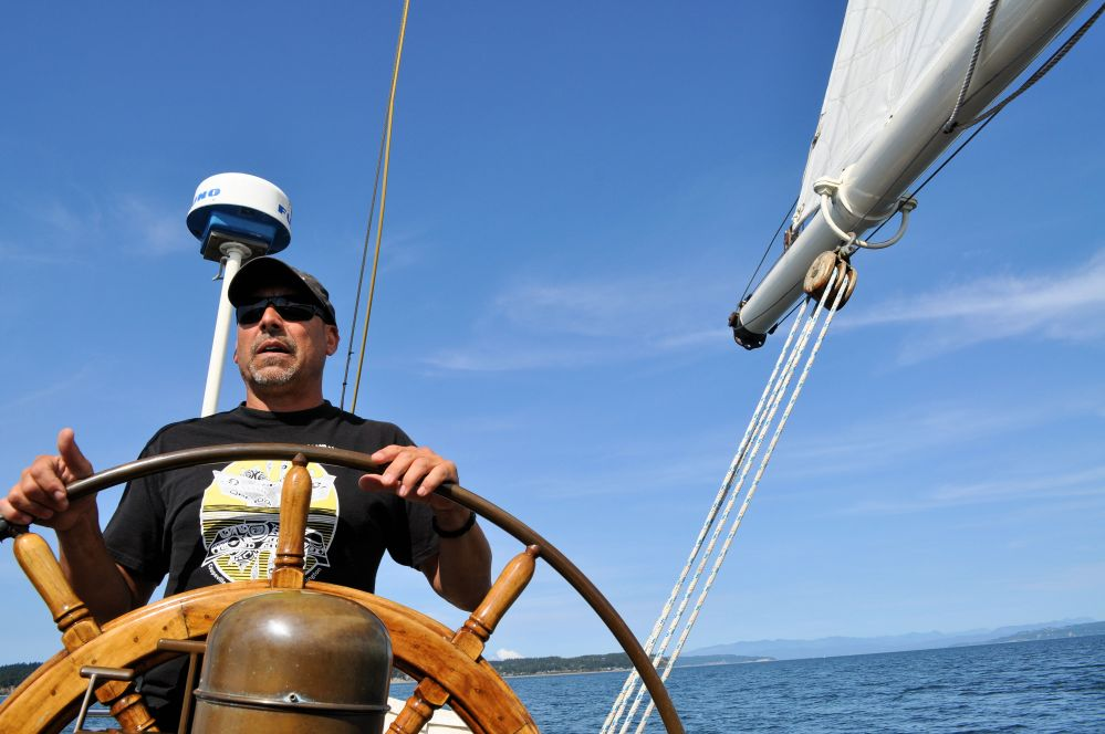 Captain Mark Saia fondly calls Suva the Goldilocks boat as she's the perfect fit for Coupeville.