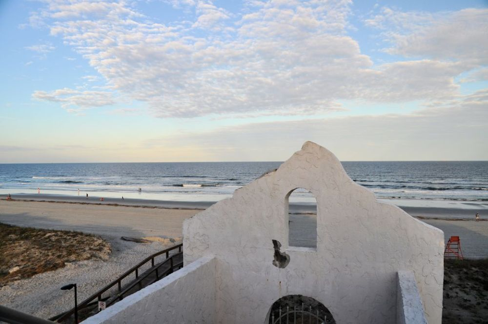 View from the rooftop at the Casa Marina Hotel & Restaurant.