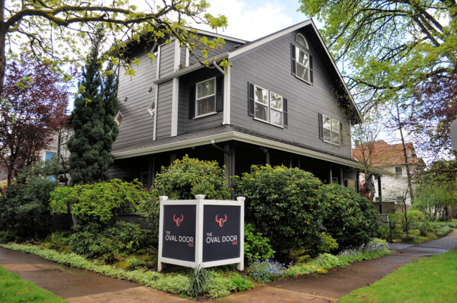 The Oval Door Bed and Breakfast in Eugene, OR.