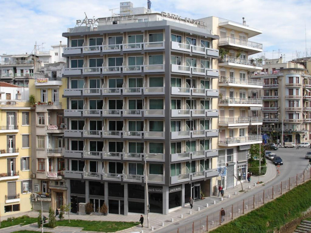 The Park Hotel in Thessaloniki, Greece.
